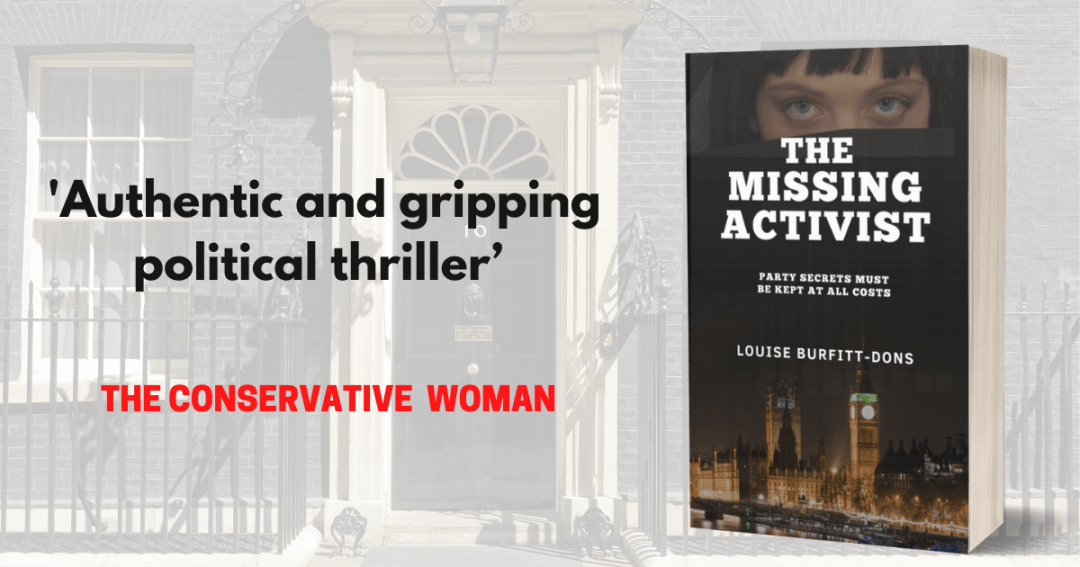 Authentic and gripping political thriller. Conservative Woman