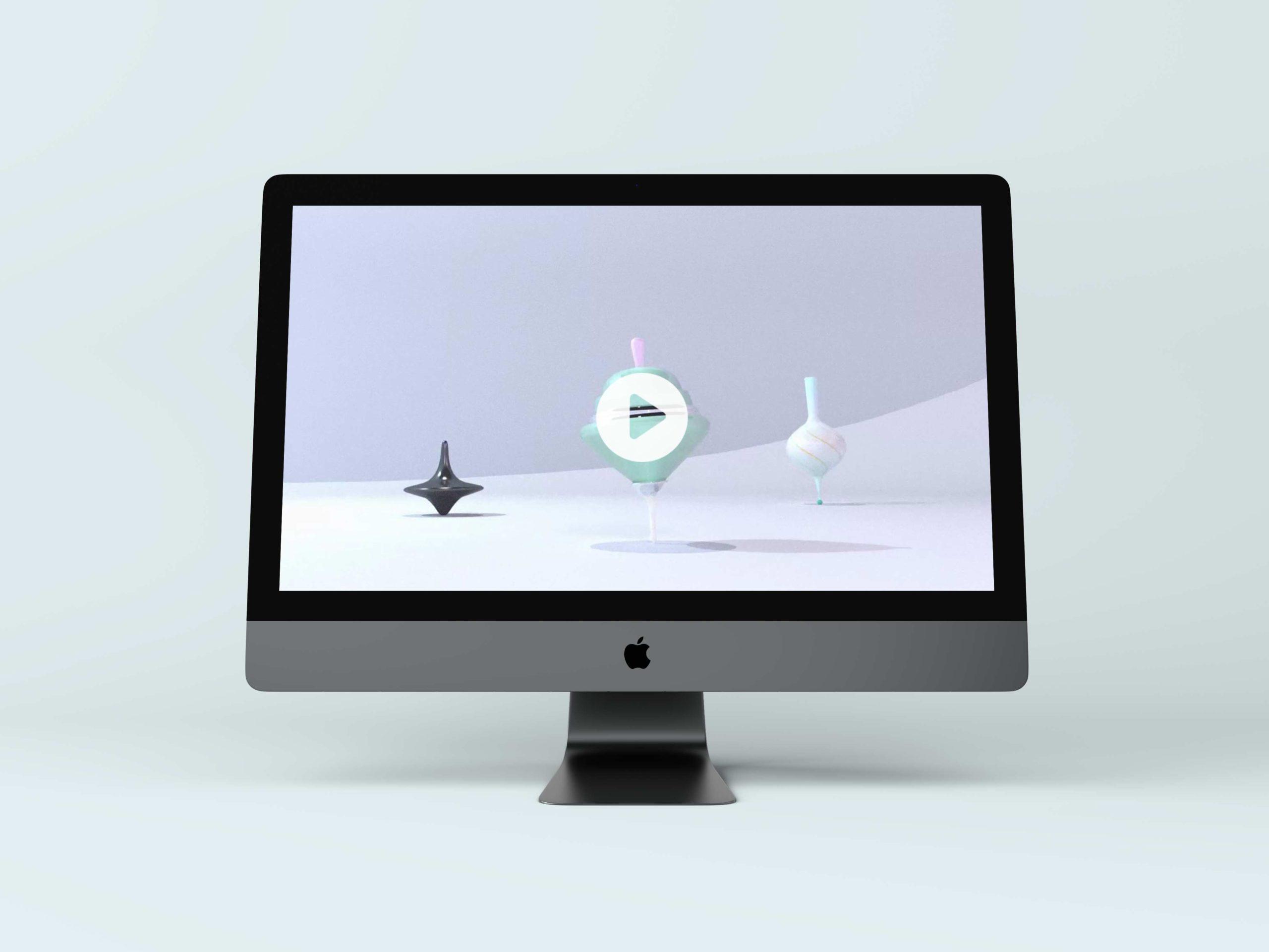 Toupie-3DsMax-animation
