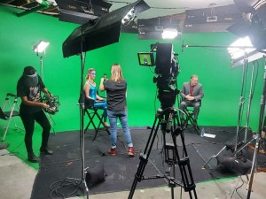 Louise Houghton Green Screen America's Next Investment Atomic Studios