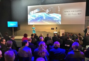 Louise Houghton European Space Agency - Sentinel 5P Launch - Berlin