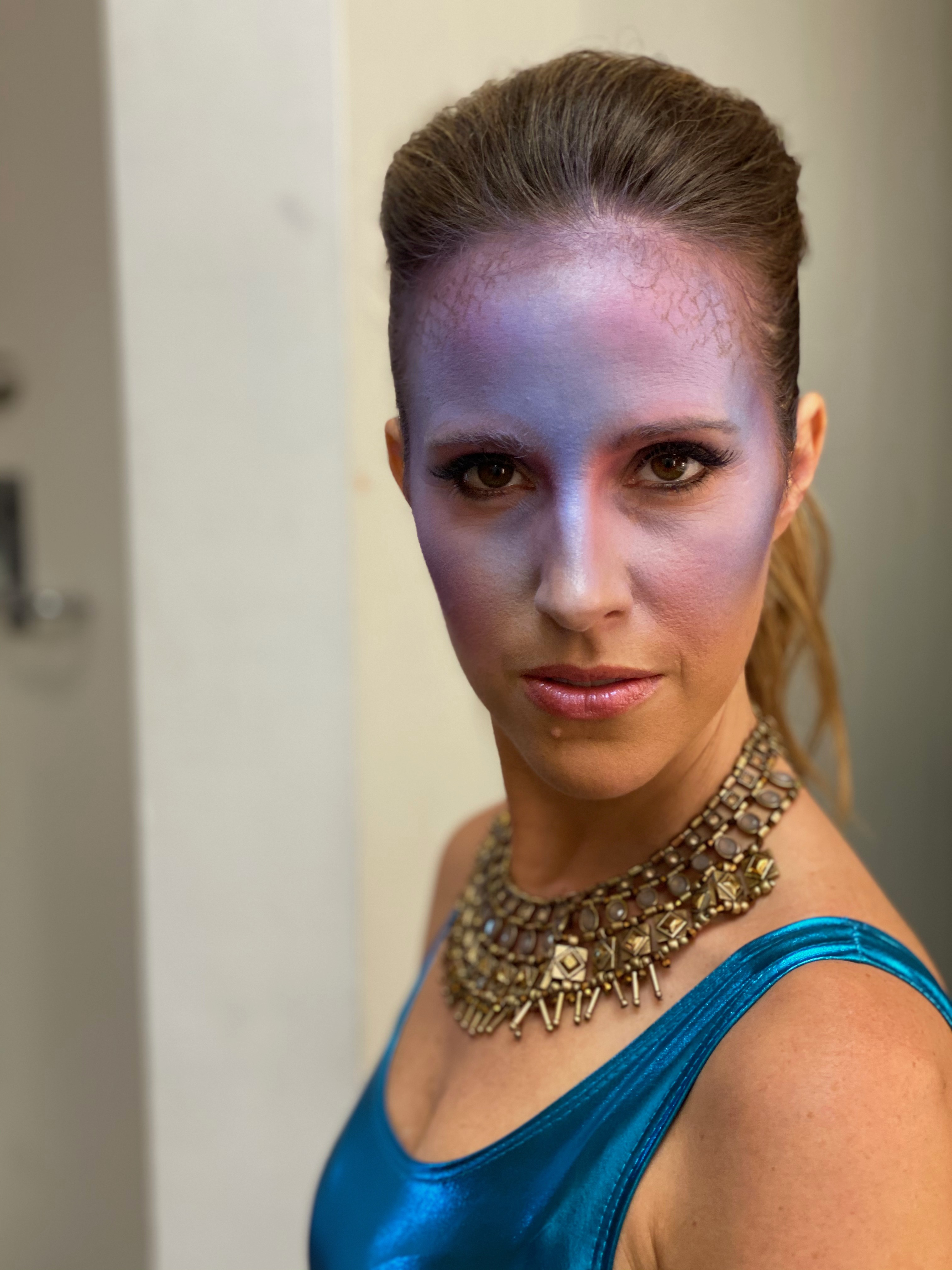 Louise Houghton America's Next Investment Atomic TV Face MakeUp