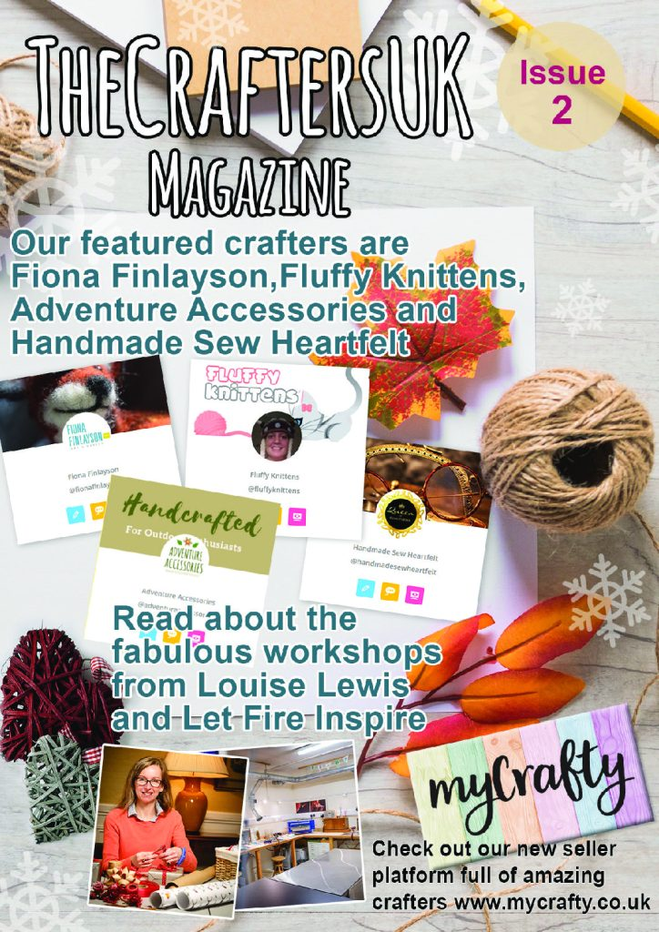 Front cover of the Crafters Uk Magazine Issue 2