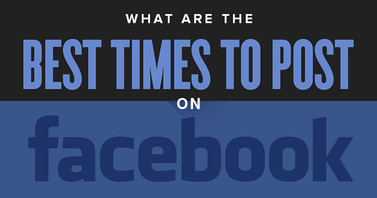 best time to post on Facebook banner image