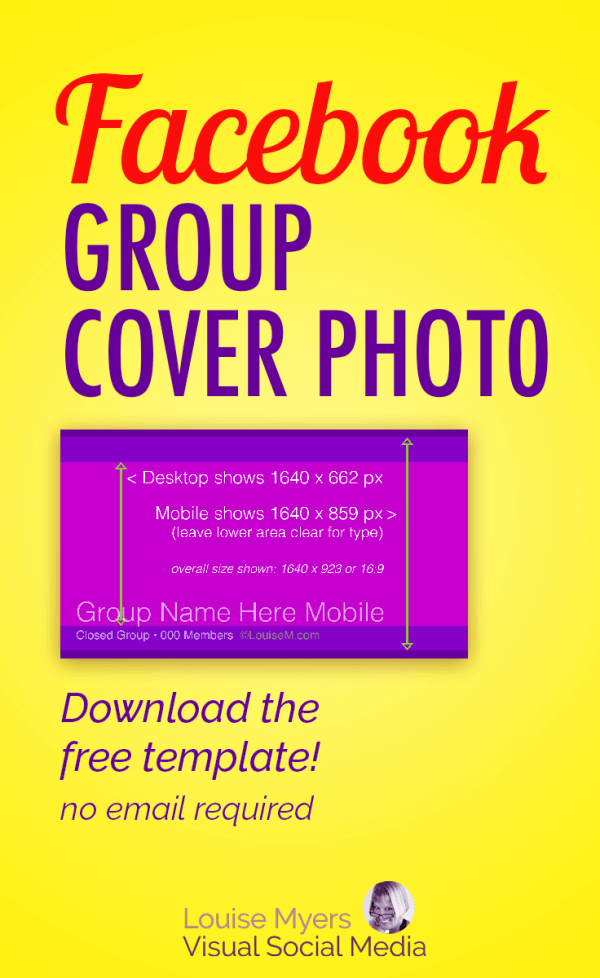 Facebook Group Cover Photo Size 2020: Free Template
