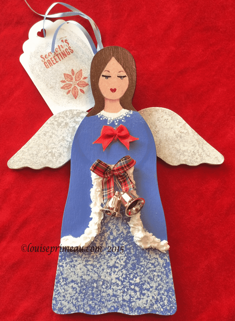 finished giveaway angel
