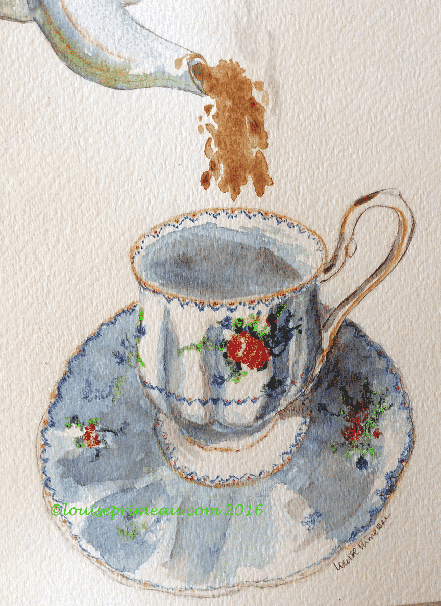 Petit-Point Teacup