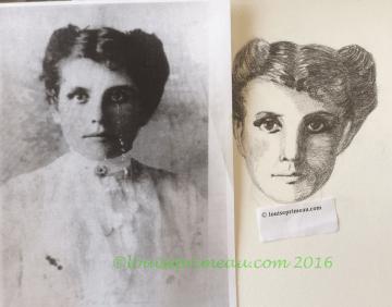 Portrait for Bernadette