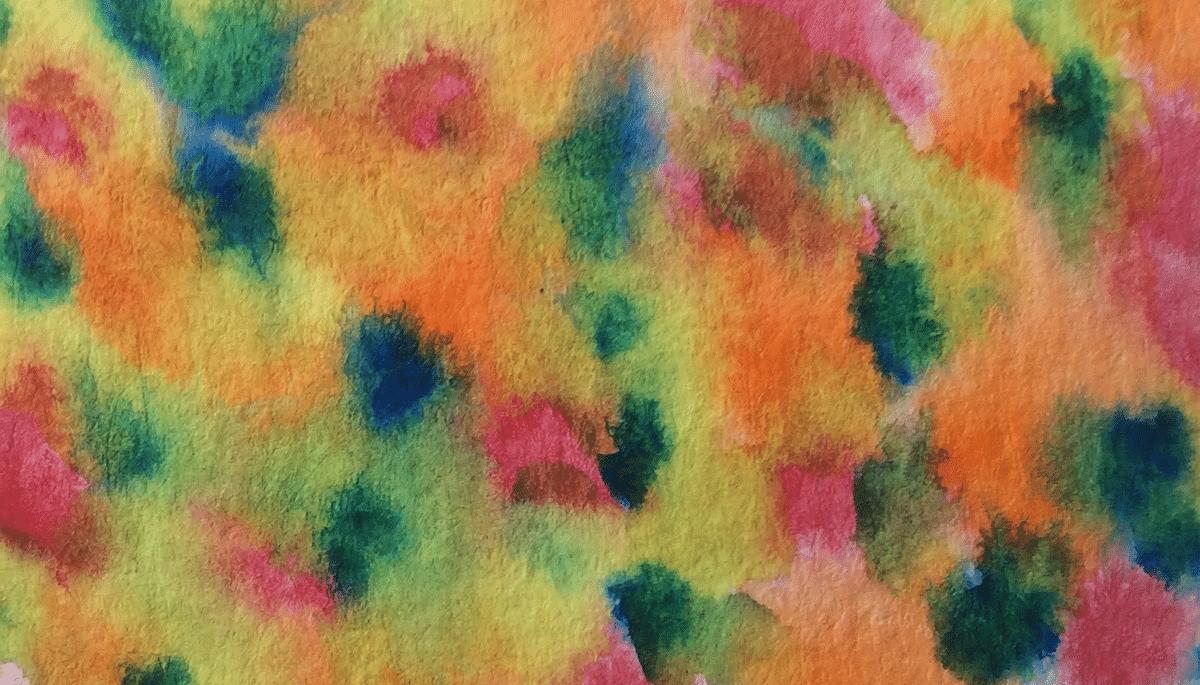 watercolour splatters