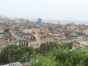 Old Havana, panoramic view from rooftop