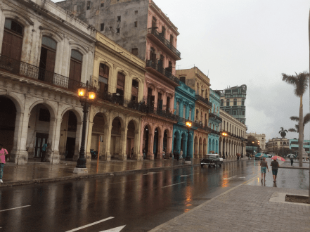 the colours of Old Havana