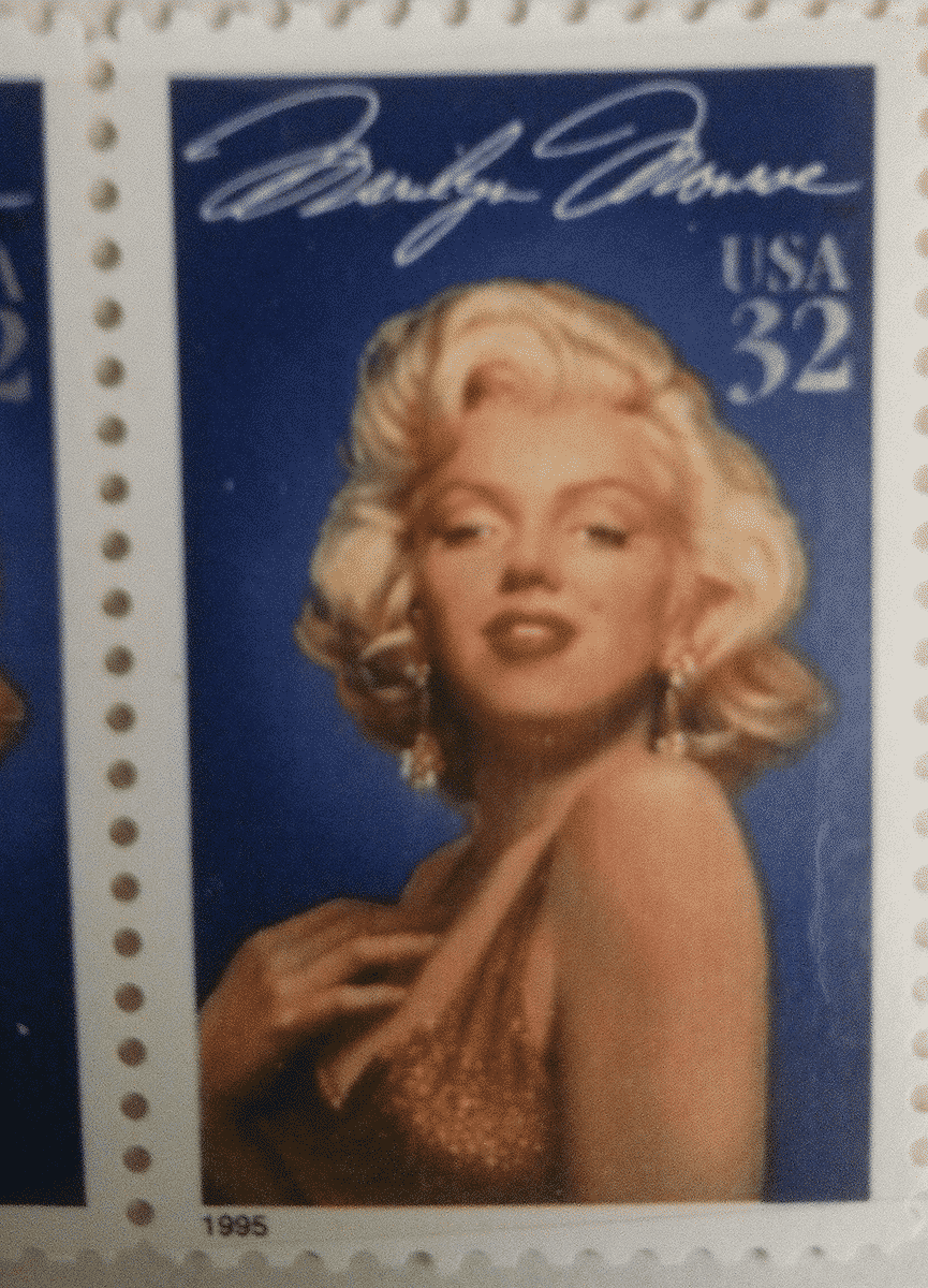 stamps In USA for Marilyn Monroe