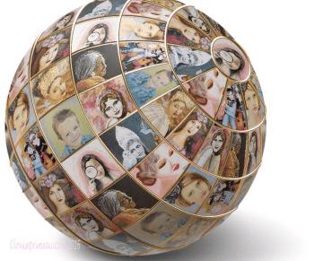 art covers the globe