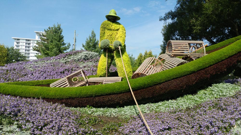 Lobster fisherman at MOSAICANADA150