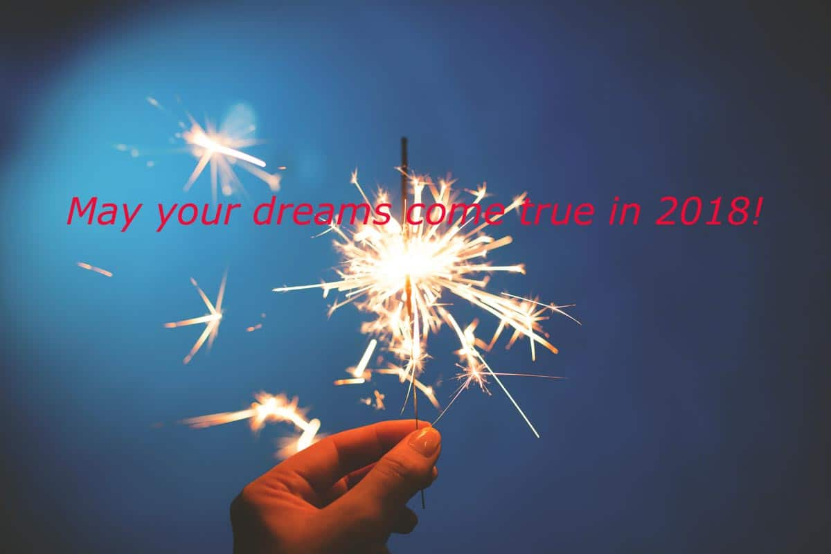 new year wish 2018