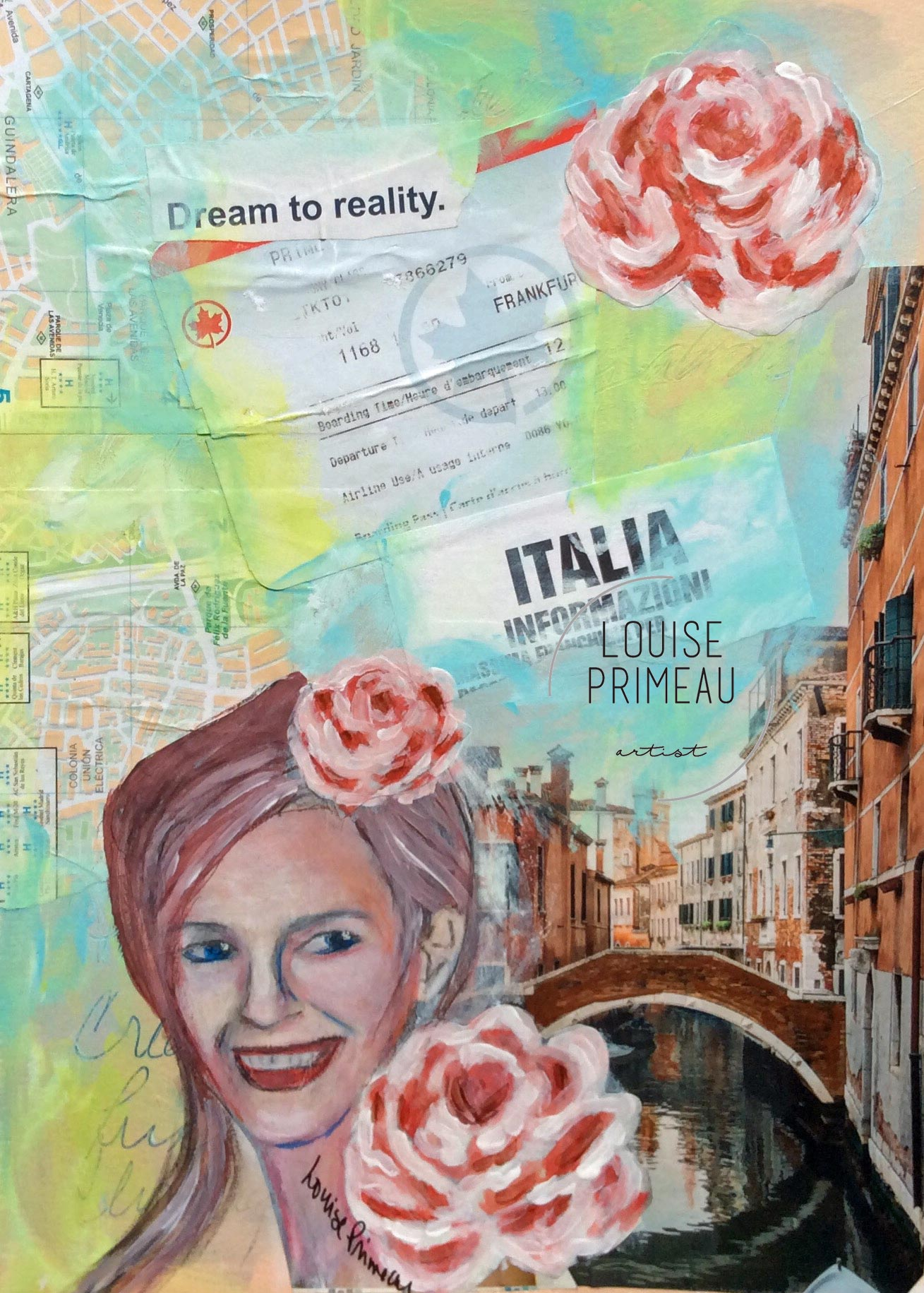Italy dream journal page