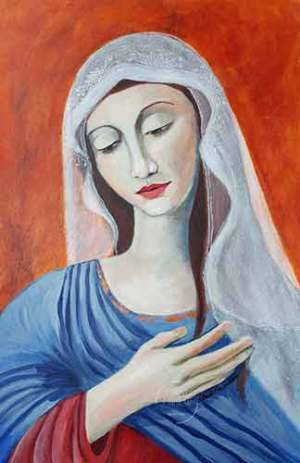 Mary Magdalene - Original Art by Louise Primeau