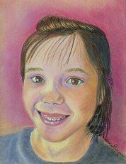 prismacolor portrait - Mya