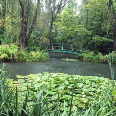 Grounds for Sculpture - Monet's garden