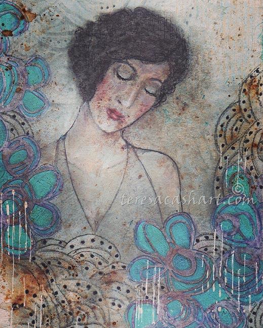 Teresa Cash art - A Pause
