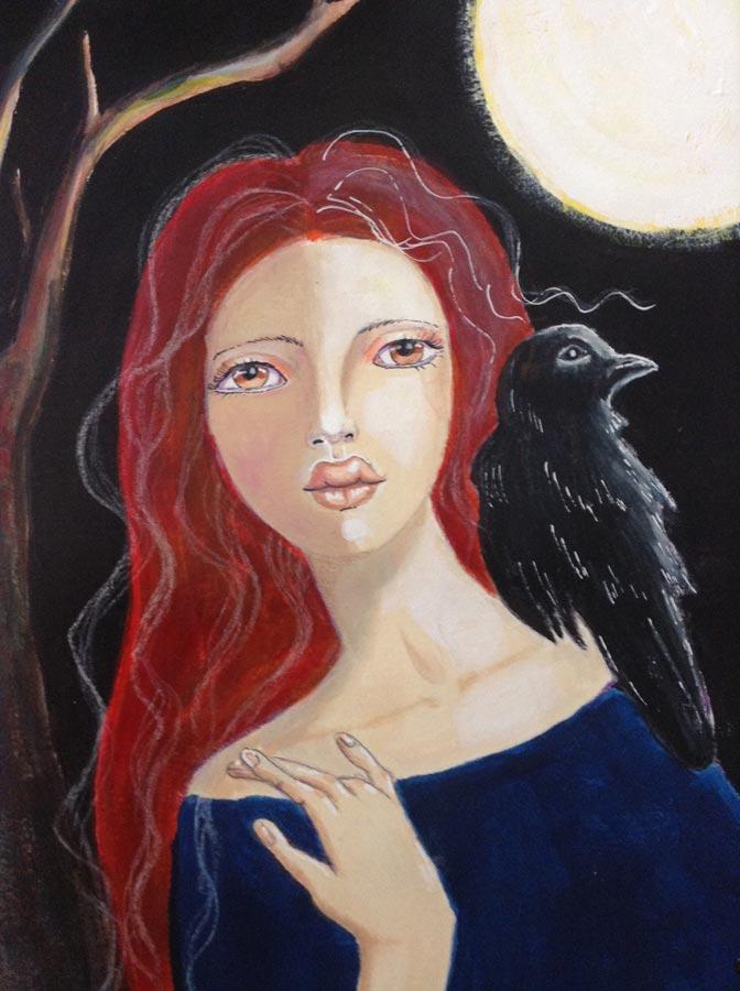 Guest artist Jan Byers.