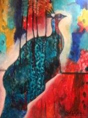 Peacock Dreams by Shinjini