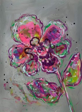 Floral study 5 by Louise's ARTiculations