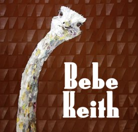 """""""Ostrich"""" paper mosaic by Bebe Keith, guest artist at Louise's ARTiculations"""