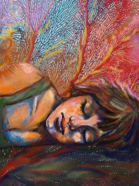 Sweet Dreams by Layne Chun, guest artist at Louise's ARTiculations