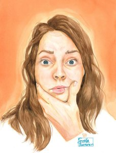 Self Portrait 2020 by Soila Tuominen