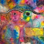 Anxiety -1 by Shawnta Cermeno, guest artist at Louise's ARTiculations