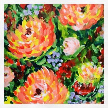 Cheerful flowers by Louise's ARTiculations