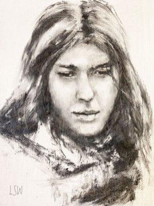 Chenda, by Loretta Waldron, guest artist at Louise's ARTiculations