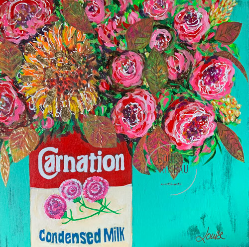 Summer is in the Carnation Can