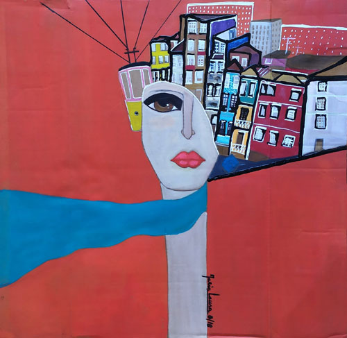 Lady Porto by Maria Laura Vila, guest artist at Louise's ARTiculations