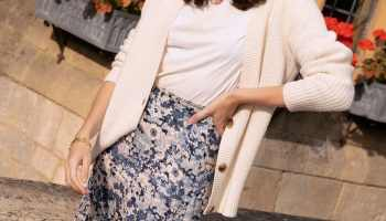 Styling Silk Skirts In The Autumn