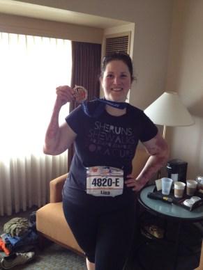 4 th half Marathon May 2012