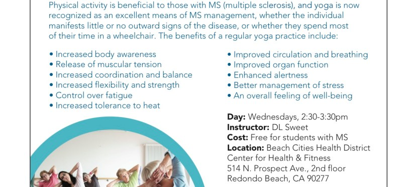 UPDATED: Yoga for Patients with Multiple Sclerosis – MS