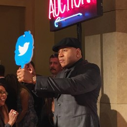 "On the ""Orange carpet"" with LL Cool J - at Erase MS Gala (Photo credit: Louise Sattler)"