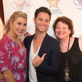 Emma Slater Farber, Sasha Farber at I (photo credit: Joy Daunis)