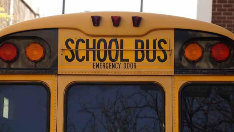 back bus education school