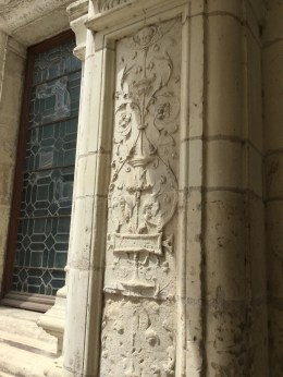 Les décorations de la façade