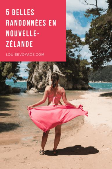 5 belles randonnées en Nouvelle-zélande