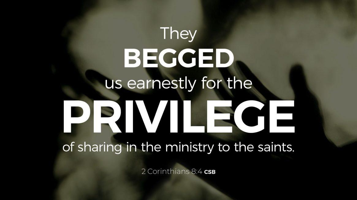 2 Corinthians 8:4