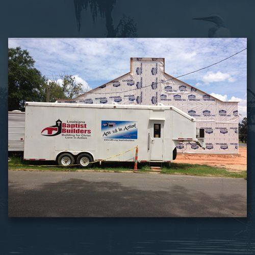 Baptist Builders Trailer