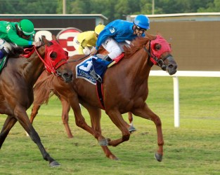 MARIAH'S GALAXY - Louisiana Legends Turf Distaff - 07-04-20 - R05 - EVD - Finish