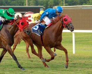MARIAH'S GALAXY - Louisiana Legends Turf Distaff - 07-04-20 - R05 - EVD - Finish