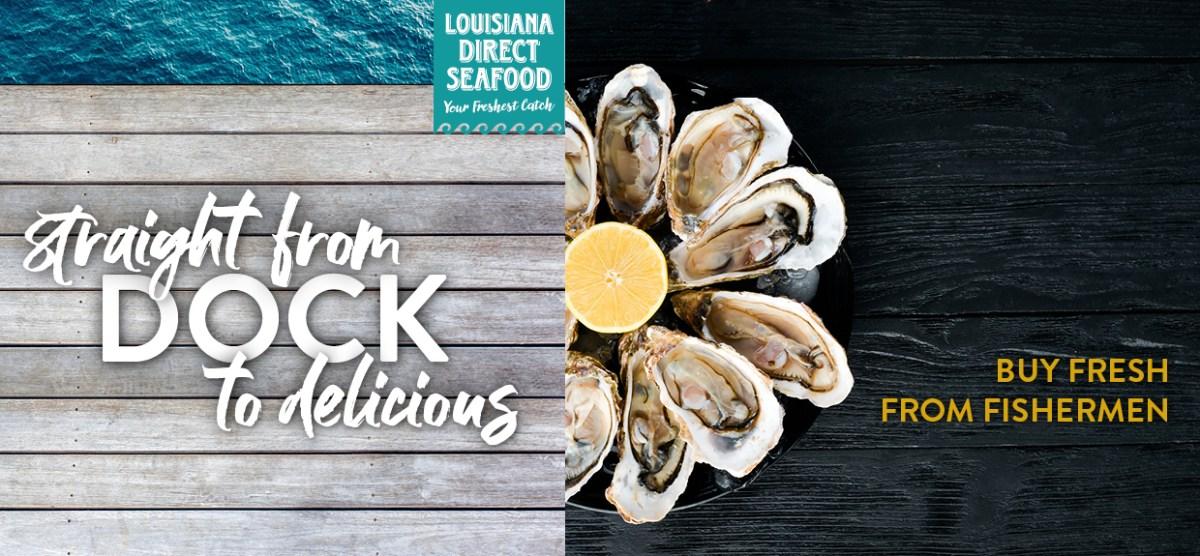 web rotator with link to La Direct Seafood