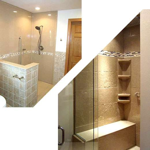 Tub and shower inserts