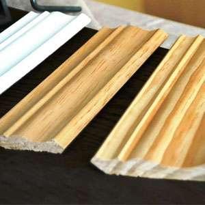 Wood trim