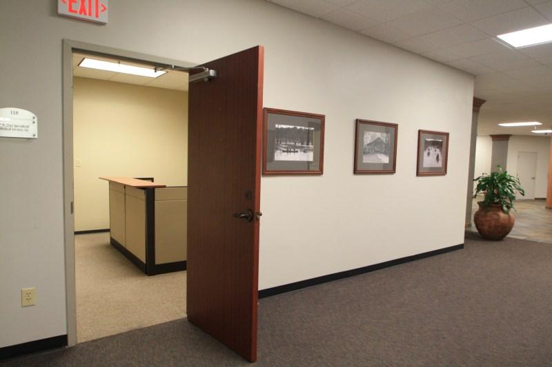 Suite 118 Reception Entrance